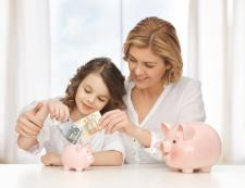 Teaching you kids about money blog