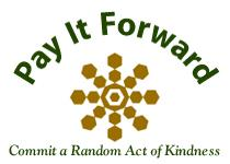 Pay It Forward - New